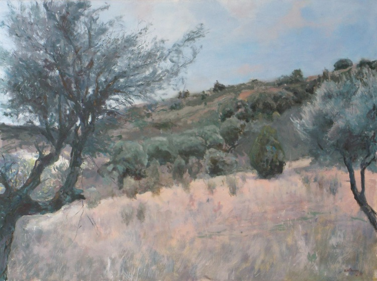 """""""Composition with olive trees"""" - Image 0"""