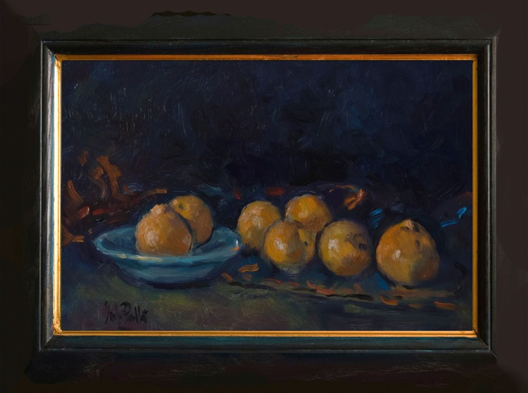 Tangerines and Bowl - Image 0