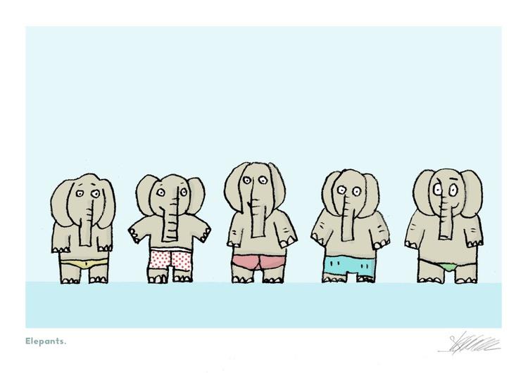 Elepants. - Image 0