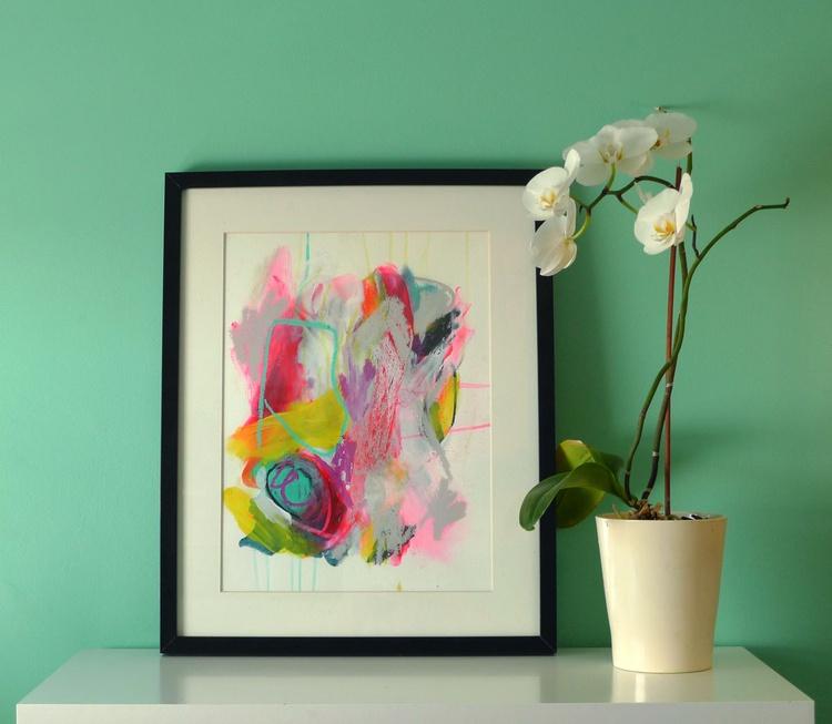 Holi Abstract #10 - Image 0