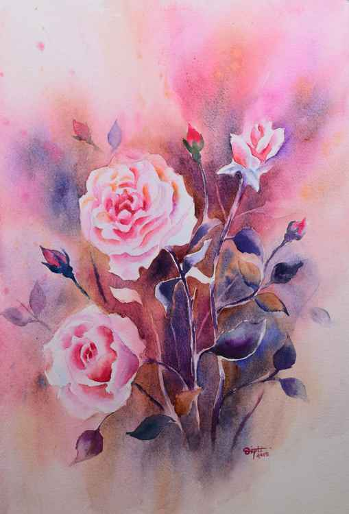 Pink Roses -