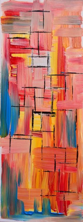 Abstract Home Decor 069 - Long Deep Edge Canvas Ready To Hang - Image 0