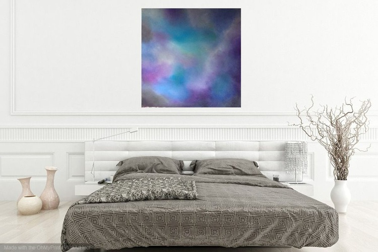 Eternity, Large 1m x 1m Acrylic on stretched canvas - Image 0