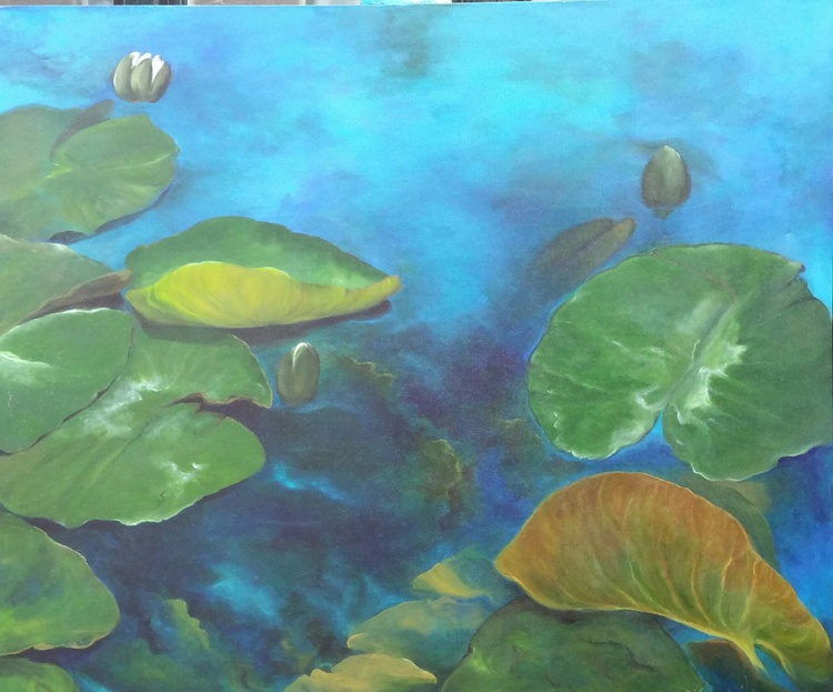"""""""Stillness in Blue"""" - Image 0"""