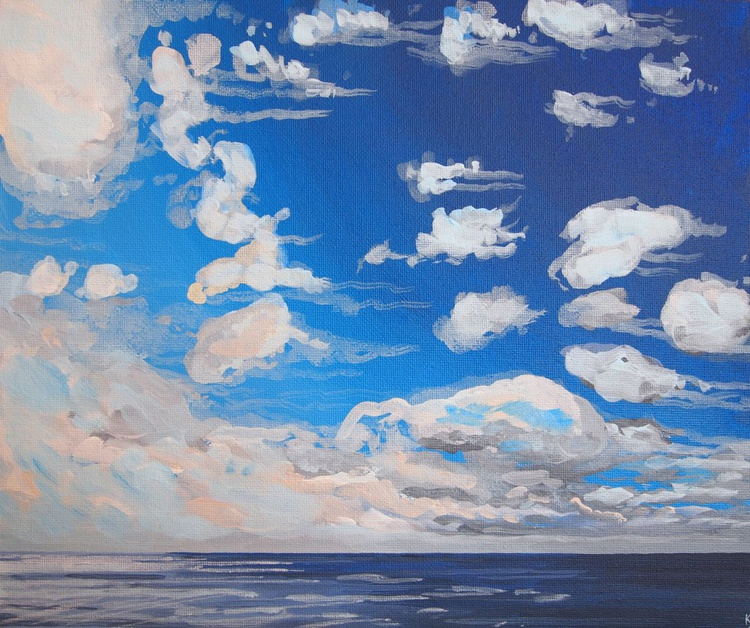 Clouds out to Sea 3 - Image 0