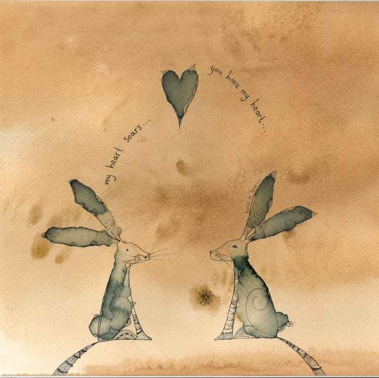 Hares In Love -