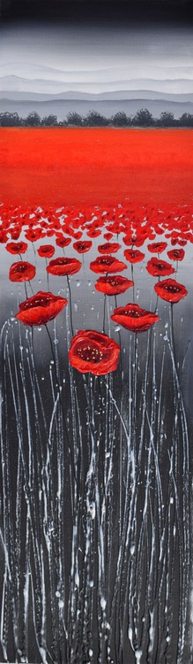 Long Grass  & Red Poppies - Image 0