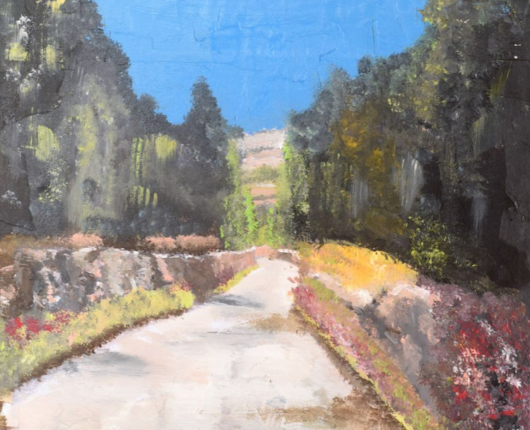 A Road in the Judean Hills - Image 0