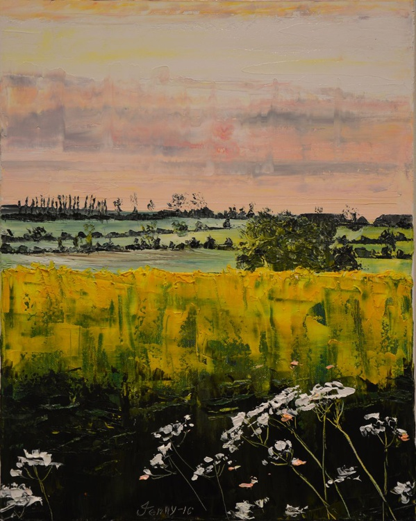 Fading Rape Fields, Fading Day - Image 0