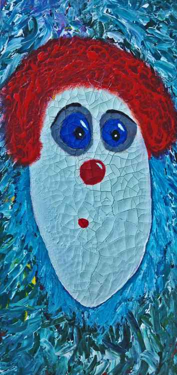 Willie the Cracked Face Clown -