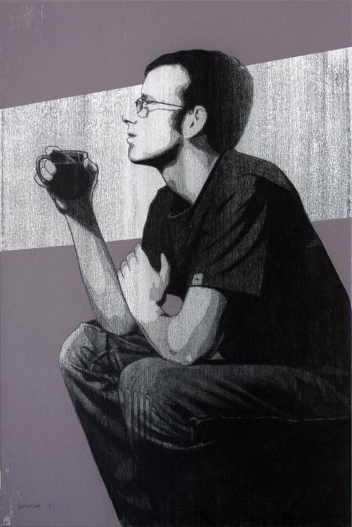 Matt Drinking Coffee - Image 0