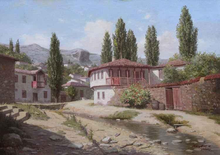 House  Kuruu-su Bakhchisarai