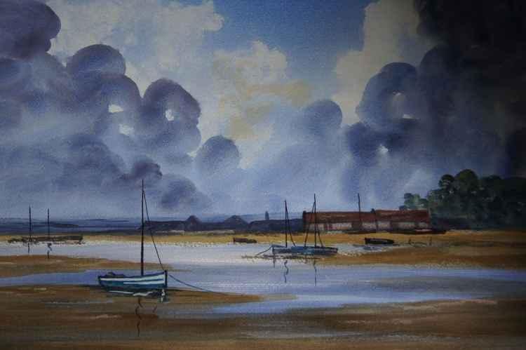 Brancaster Boat Sheds Norfolk