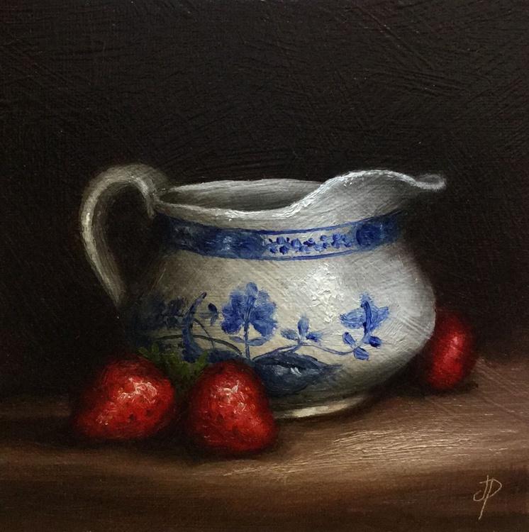 Strawberries with Cream jug - Image 0