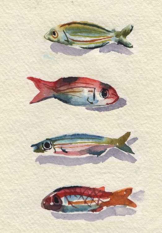 Ceramic fish -