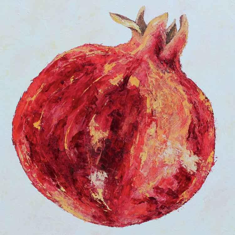 Whole Pomegranate 2, 2016