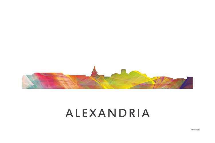 Alexandria Virginia Skyline WB1 -