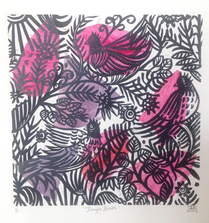 Jungle Birds (Pink) - Image 0