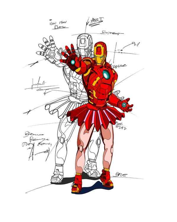 Ironman en tutu.