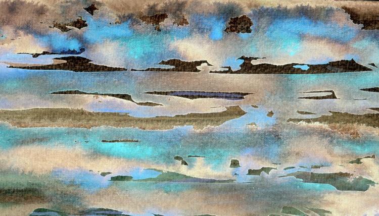 Jason Nears Lemnos - Shallows and Reflections - Image 0