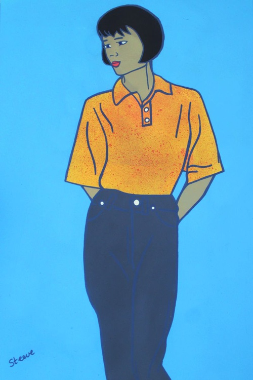 Easyjet Cabin Crew 1995  (On Chunky Canvas) Draft - Image 0