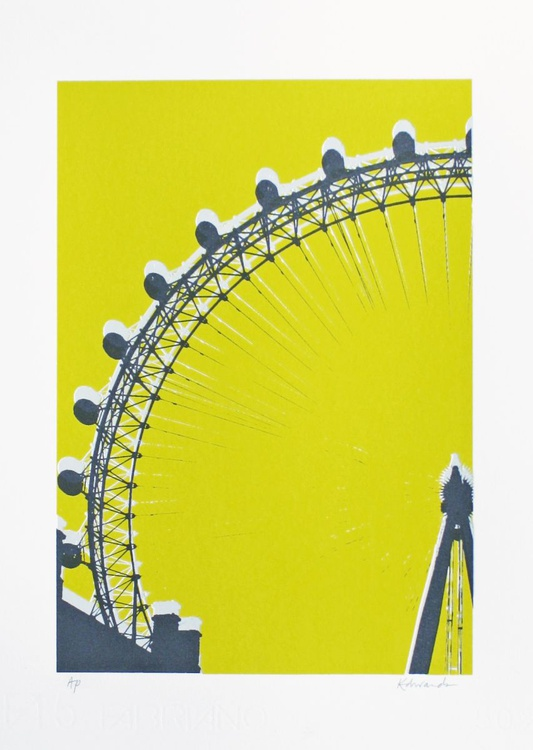 London Eye (chartreuse) - Image 0