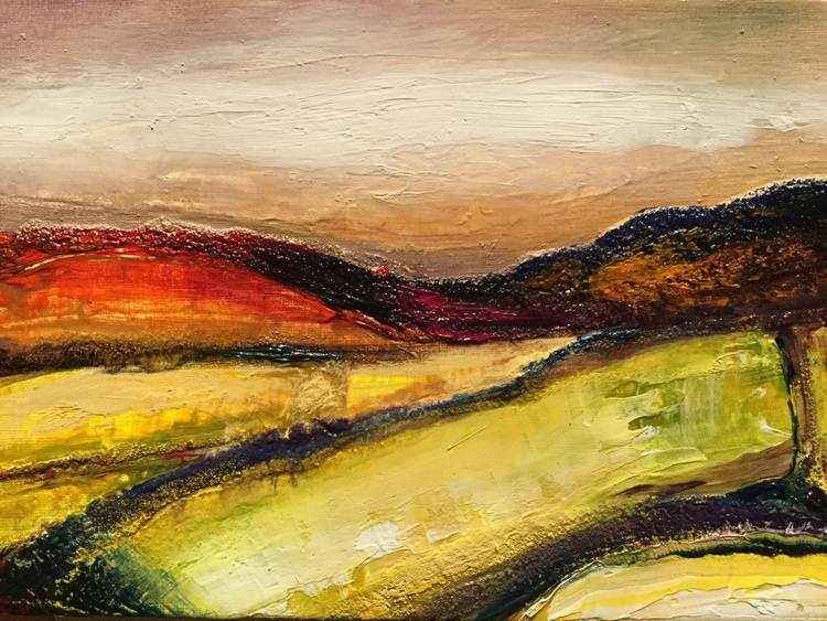 Northumberland abstracted landscape - Image 0