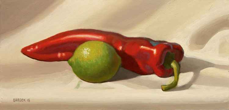 Limes and pepper -