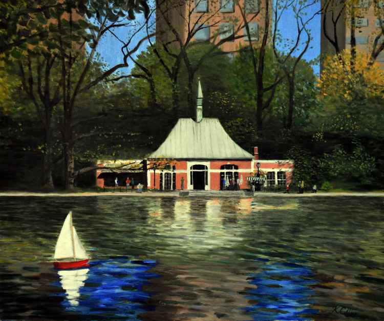NY Toy Boathouse, Central Park -