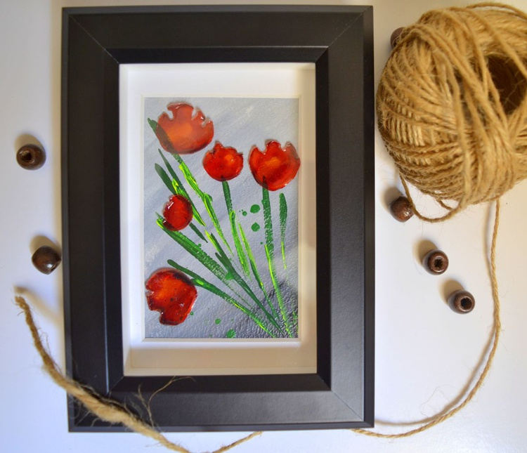 For the planet- poppies - Image 0