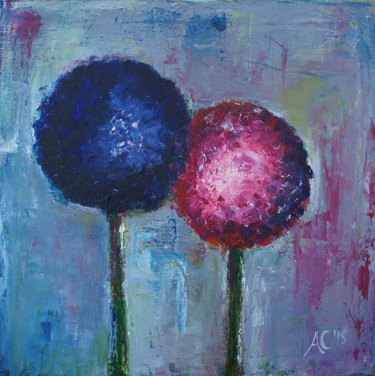 Duo of Alliums - Image 0