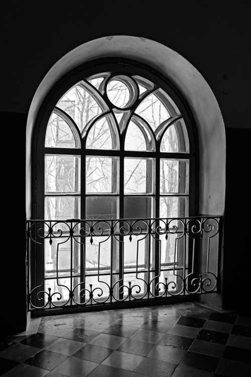 Window at noon -