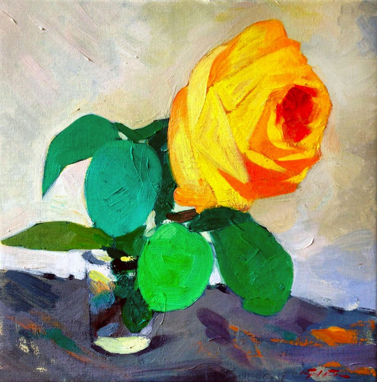 The Yellow Rose - Image 0