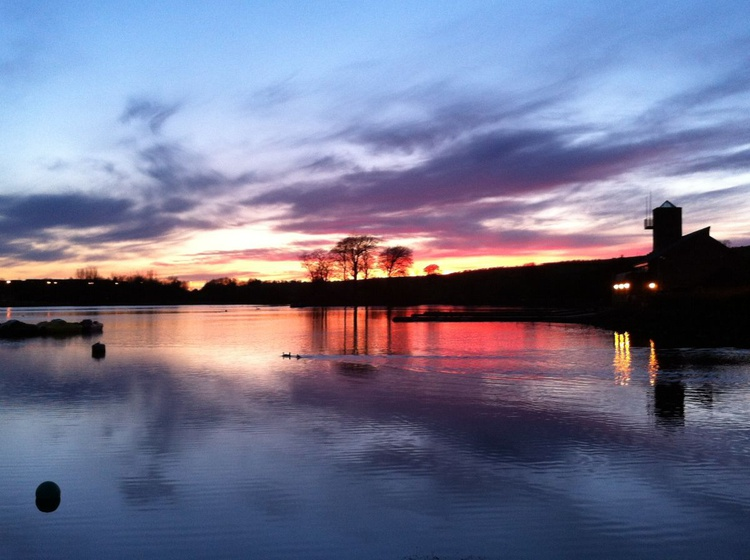Sunset over a Scottish Loch - Image 0