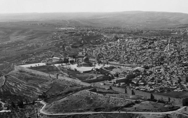 Aeriel View of Jerusalem, 1931 - Image 0