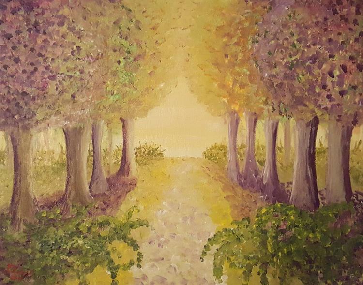 The path to light - 50x40cm - Image 0