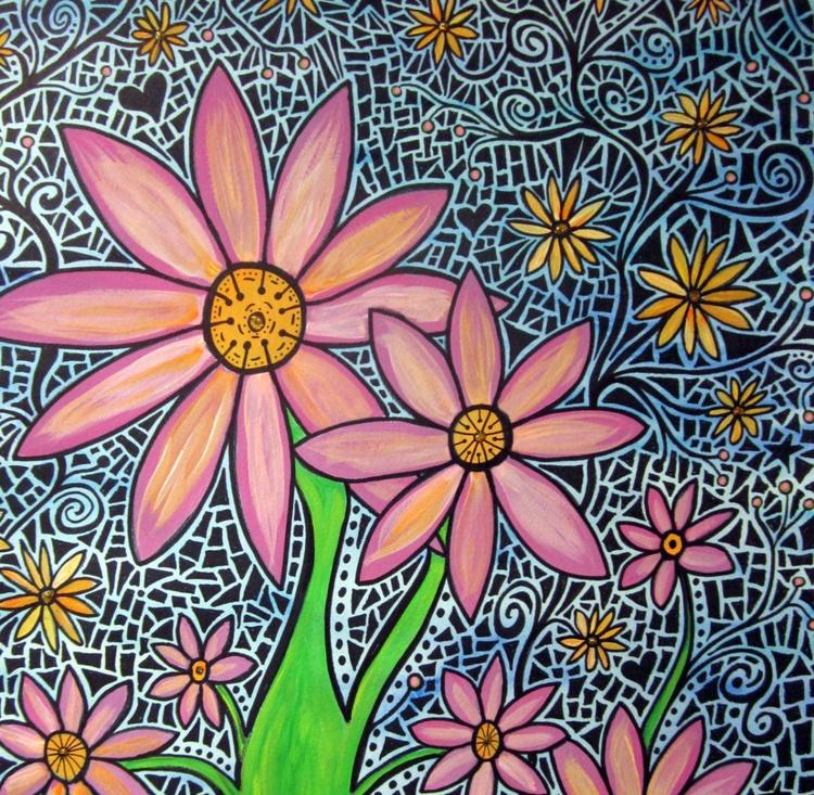 Flower Mosaic - Image 0