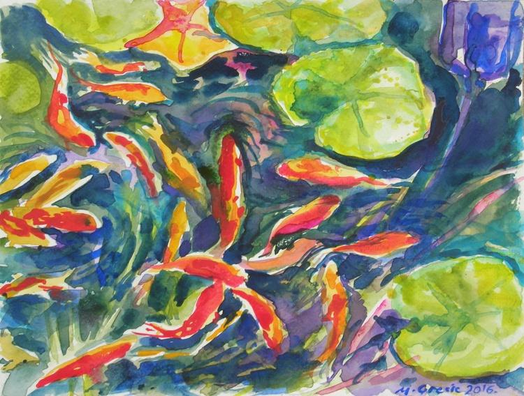 Water lily retreat II - Image 0