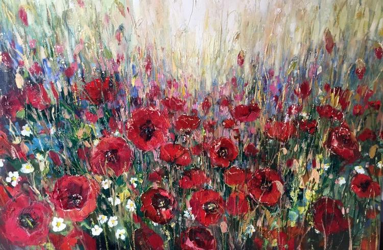 'Late Poppy Field' - Image 0