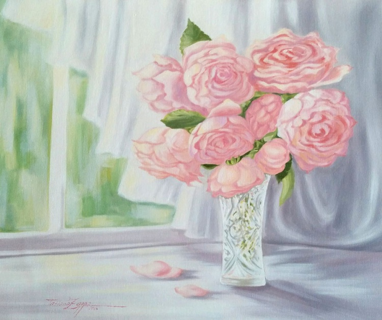 Bouquet of home roses - Image 0