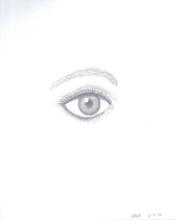 0025 Eye 05 Drawing -