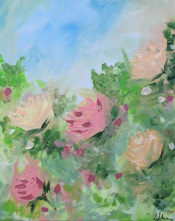 Vintage Roses - Peaches & Cream - Image 0