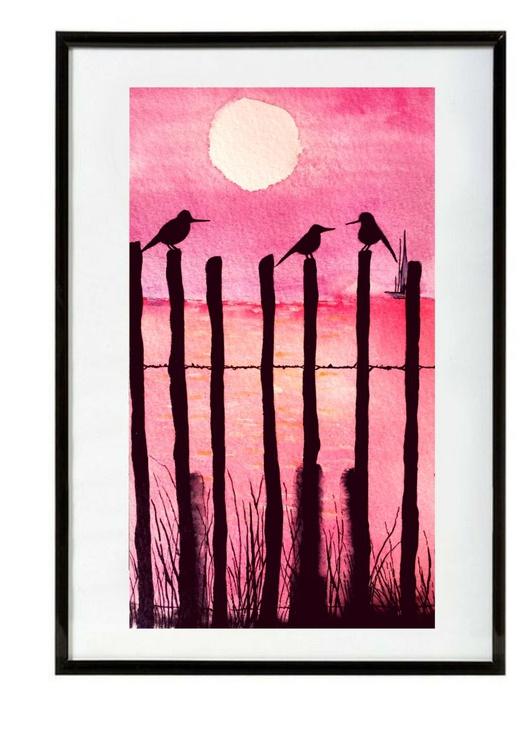 Sunset birds - Image 0