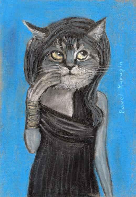 Coquette cat -