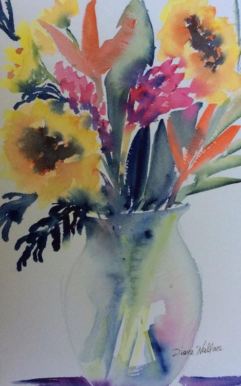 Glass Vase - Image 0