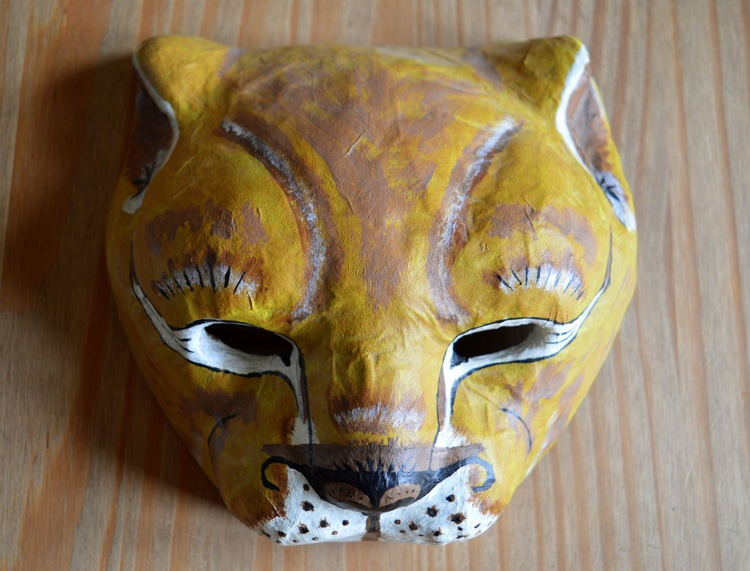 'The Lion King' papier mache mask/sculpted mask/ wall hanging - Image 0