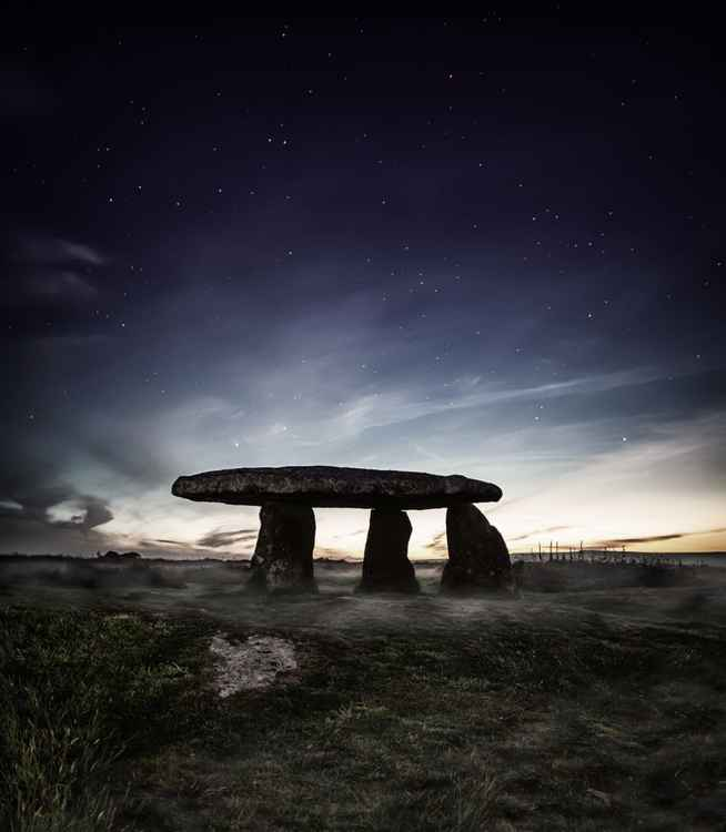 Lanyon Quoit in Penwith Cornwall England UK -