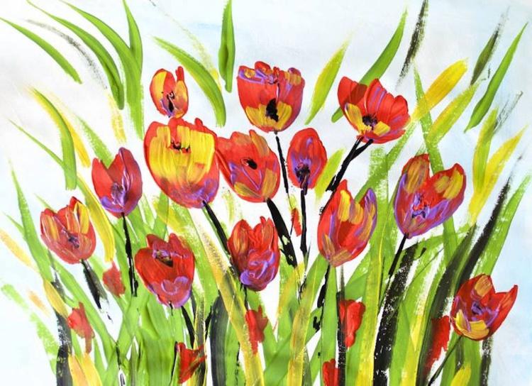 Flower art - Spring - Image 0