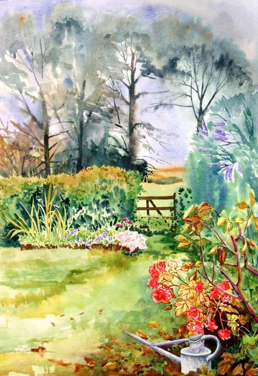Autumn Garden (39x55cm) - Image 0