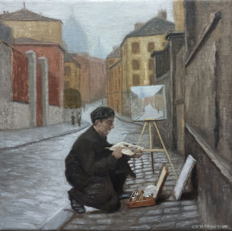 Moments back in time - Montmartre Plein Air Painter - Image 0